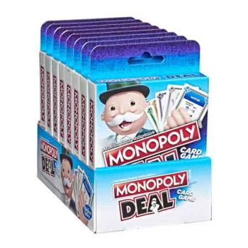 Monopoly Deal ( ONLY SOLD in Carton of 8 )