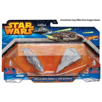 Hot Wheels Star Wars - Starship 2 Pack Assorted