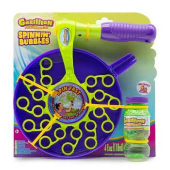 Gazillion Spinning Bubble Wand ( ONLY SOLD in Carton of 4 )