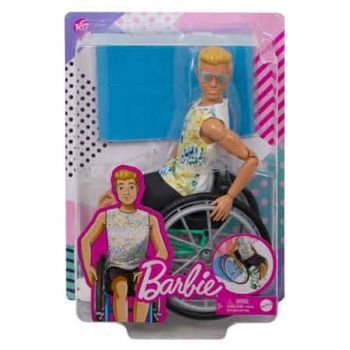 Barbie KEN Wheelchair Doll & Accessory ( ONLY SOLD in Carton of 2 )