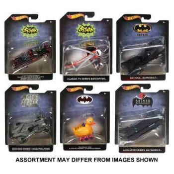 Hot Wheels Batman 1:50 Premium assorted ( ONLY SOLD in Carton of 8 )