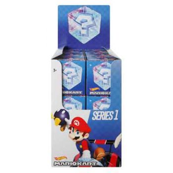 Hot Wheels Mario Kart Block assorted ( ONLY SOLD in Display of 18 )