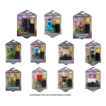 Minecraft Core Figures assorted ( ONLY SOLD in Carton of 8 )