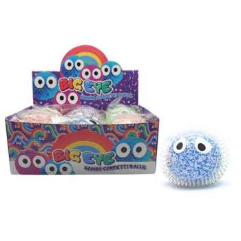 Squeeze Bead Big Eye Ball assorted ( ONLY SOLD in Display of 6 )