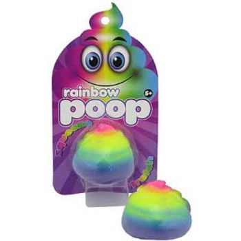Stretch Sqeeze Rainbow Poop ( ONLY SOLD in Display of 12 )