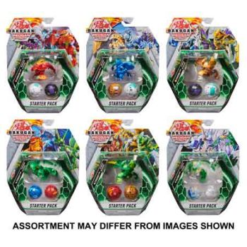 Bakugan Starter Pack Season 3 assorted ( ONLY SOLD in Carton of 6 )