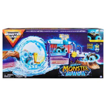 Monster Jam 1:64 Car Wash Playset