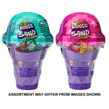 Kinetic Sand Ice Cream Container 5oz ( ONLY SOLD In Display of 12 )
