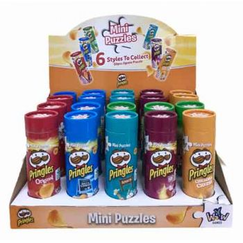 Mini Puzzle Pringles 1pk assorted ( ONLY SOLD in Display of 20 )