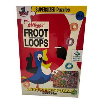 SuperSized Puzzles Kellogg's Fruit Loops 1000pce