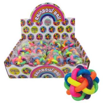 Rainbow Ball ( ONLY SOLD in Display of 12 )