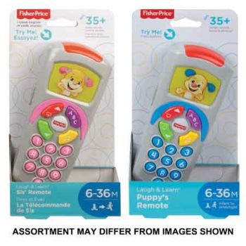 Fisher Price Puppy & Sis Remote assorted
