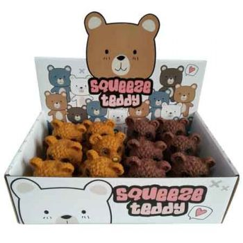 Squeeze Teddy ( ONLY SOLD in Display of 12 )