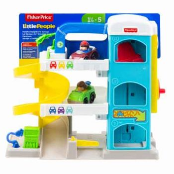 Fisher Price Little People Wheelies Garage Playset