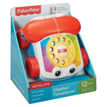 Fisher Price Chatter Telephone ( ONLY SOLD in Carton of 2 )