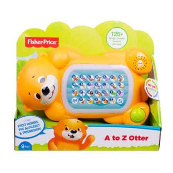 Fisher Price A to Z Otter