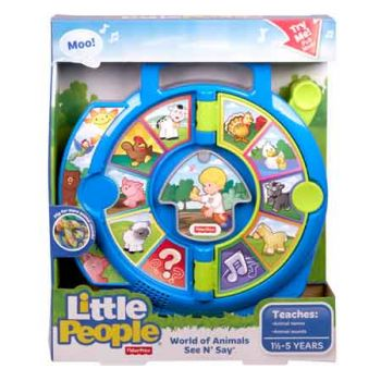 Fisher Price Little People Animals See n Say