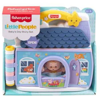 Fisher Price Little People Baby's Story Set