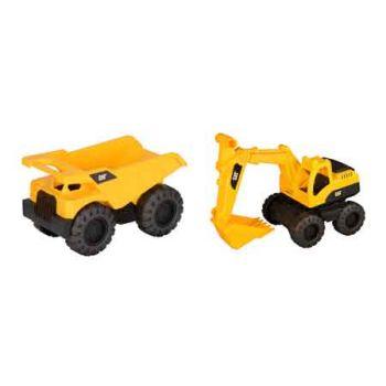 CAT Dump & Excavator 2pk