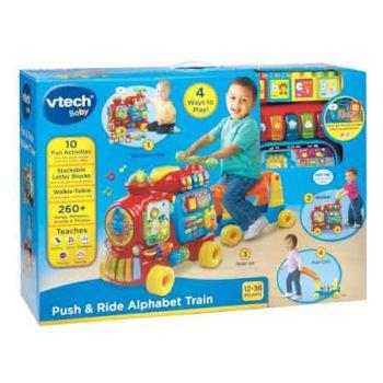 Vtech Push & Ride Alphabet Train Red