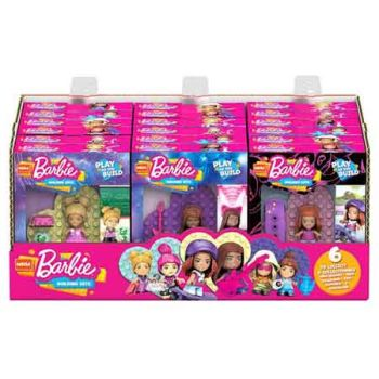 Mega Bloks Construx Barbie You Can Be Anything assorted ( ONLY SOLD in Display of 18 )